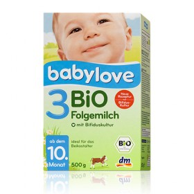 Babylove No. 3 Infant Follow On Milk Germany 500g