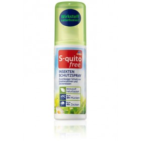S-quito free Insect Repellent Pump spray (Long-lasting protection)