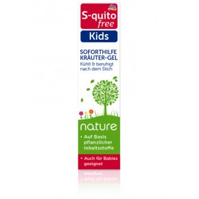 S-quito free Nature Kids Relief Herbal Gel